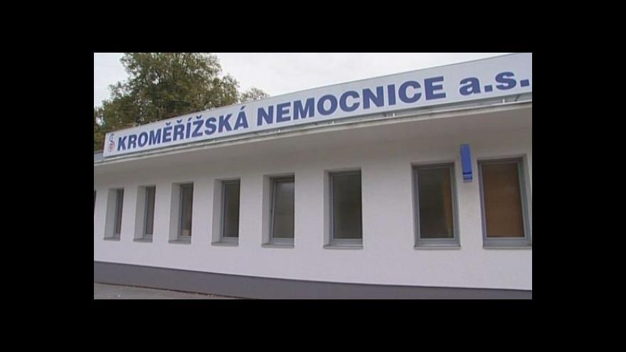 Video Josef Kvasnička: Kroměřížská nemocnice dluží přes 60 milionů korun