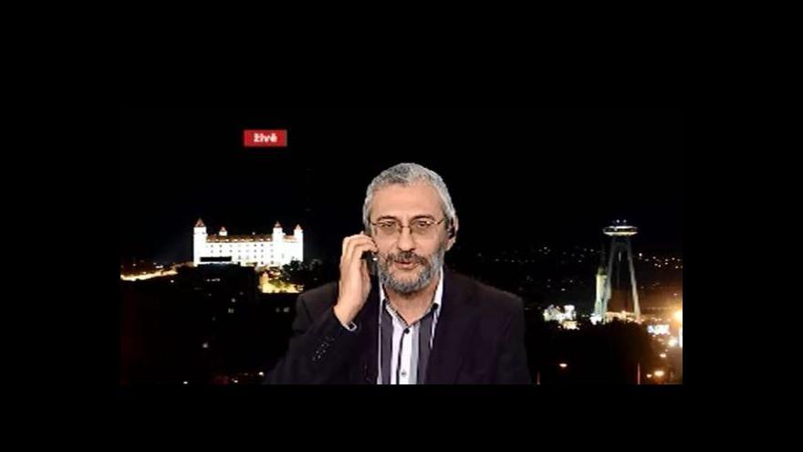 Video Grigorij Mesežnikov hostem Událostí, komentářů