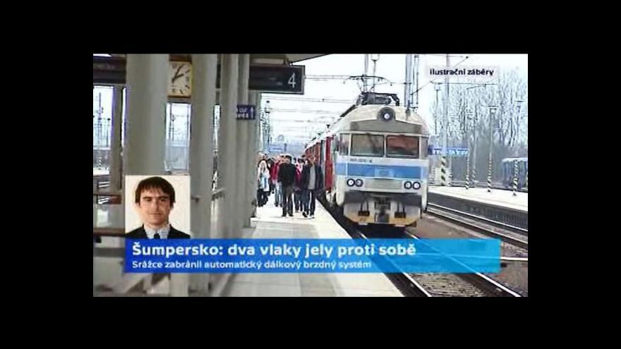 Video Telefonát Martina Drápala, mluvčího Drážní inspekce