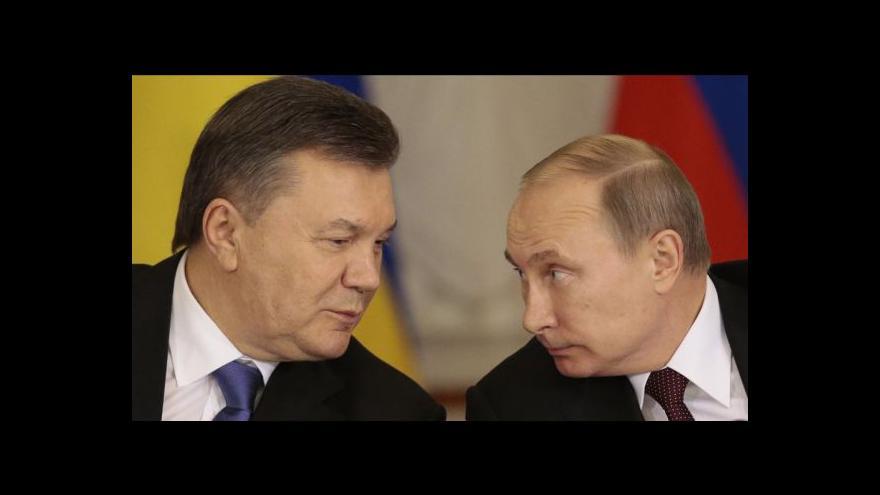 Video Ukrajinská opozice považuje dohodu s Ruskem za zradu