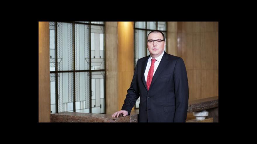 Video Rozhovor s Miroslavem Singerem v Ekonomice ČT24