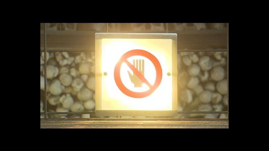 Video Lucie Rosí o krádeži v kostnici