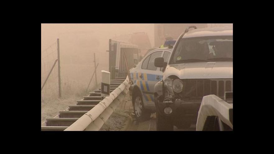 Video Na silnicích v Karlovarském kraji se od rána tvoří námrazy