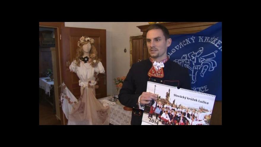 Video Ondřej Damborský o kalendáři Slováckého krúžku