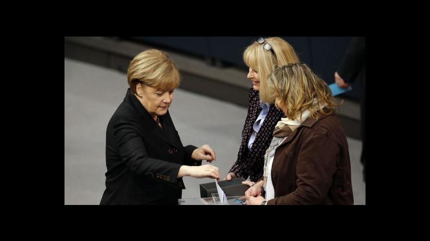Video Znovuzvolení Angely Merkelové tématem Horizontu ČT24