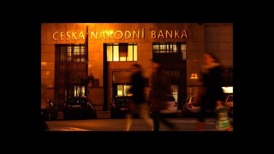 Video Intervence ČNB a předvánoční nákupy tématem Událostí