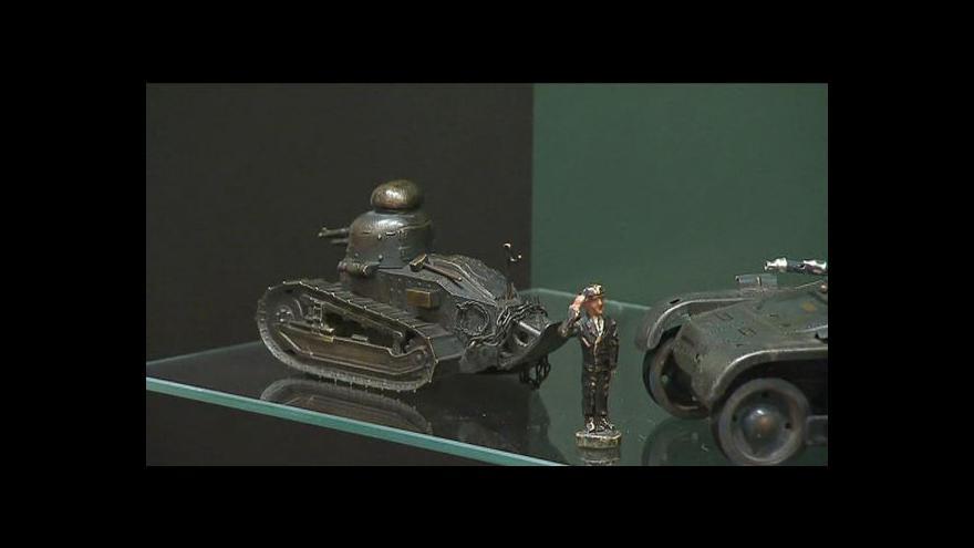 Video Výstava vojenských hraček tématem Studia 6