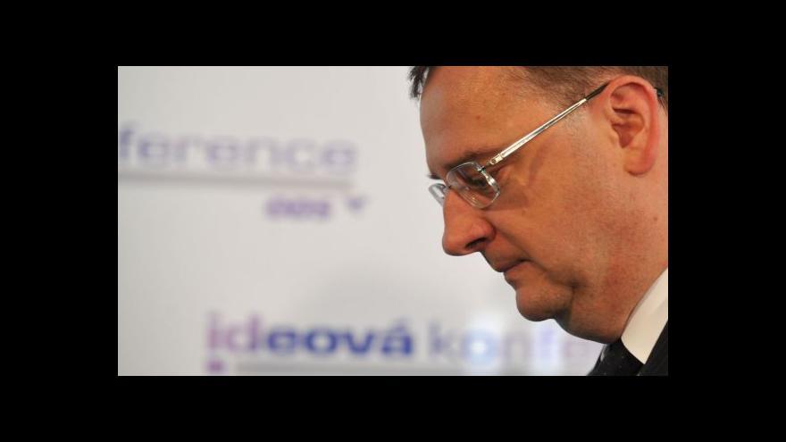 Video Petr Nečas komentuje zásah ÚOOZ na Úřadu vlády