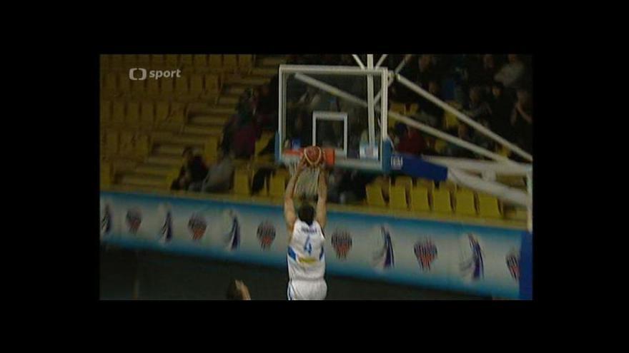 Video Sestřih basketbalového utkání Prostějov - Opava