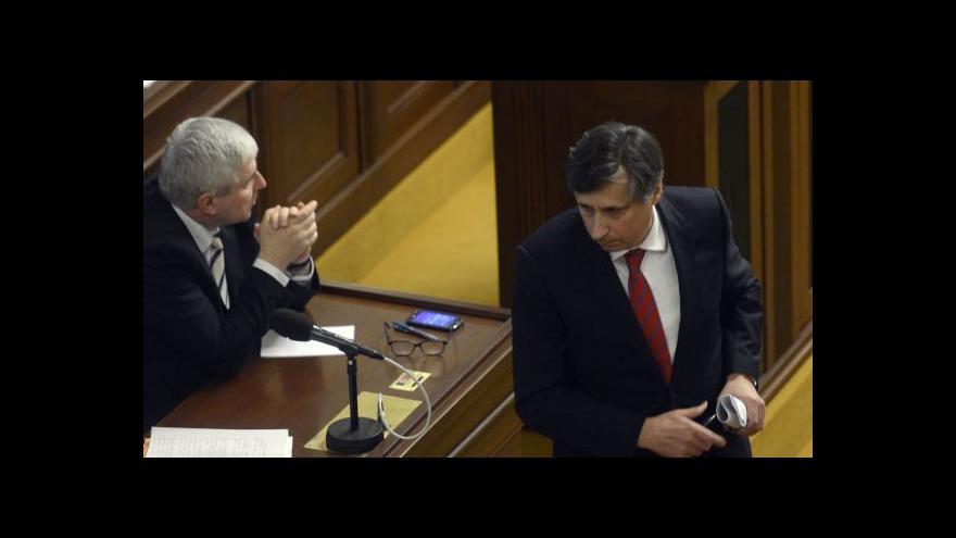 Video Události o druhém čtení státního rozpočtu