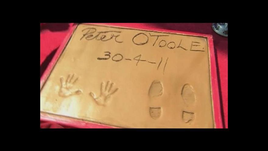 Video Zemřel irský herec Peter O'Toole