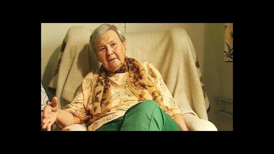 Video Pamětní deska pro Květu Legátovou