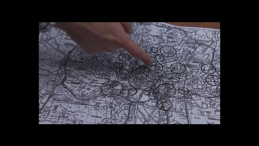 Video Brno má mapu nevybuchlé munice