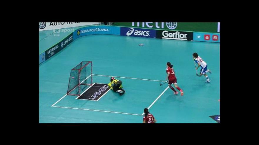 Video Sestřih 1. třetiny utkání Švýcarsko - Česko
