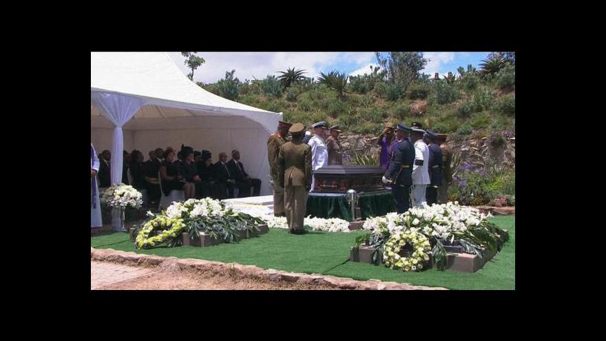 Video Jihoafrická republika se naposledy rozloučila s Nelsonem Mandelou