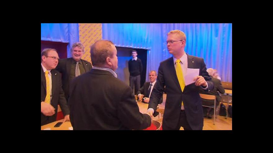 Video Lidovecké ano koaliční smlouvě tématem Událostí