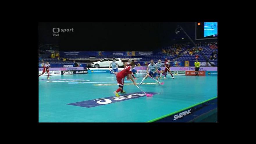 Video Sestřih 1. třetiny utkání Švýcarsko - Finsko
