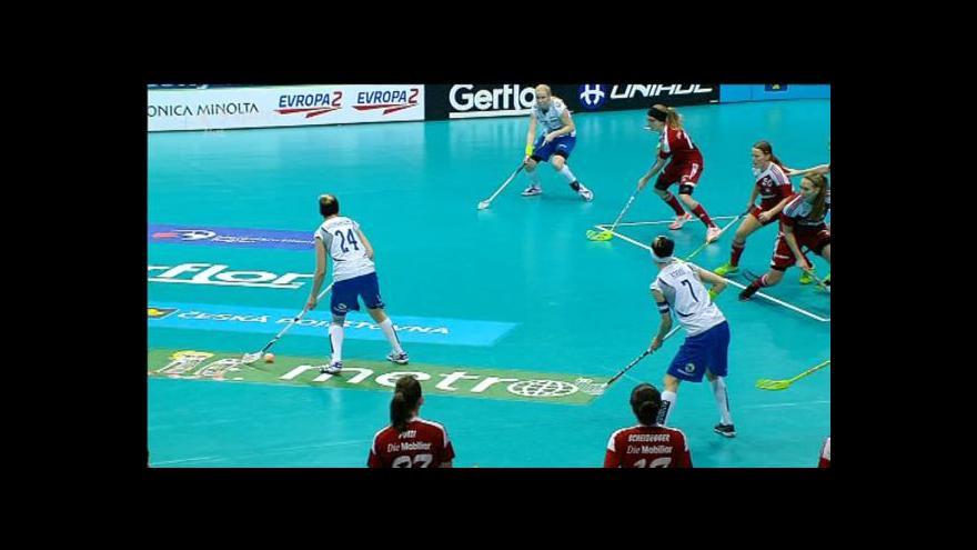 Video Sestřih 2. třetiny utkání Švýcarsko - Finsko