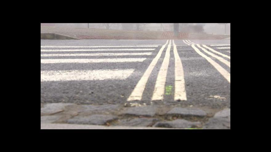 Video Nové přechody - překážka pro nevidomé