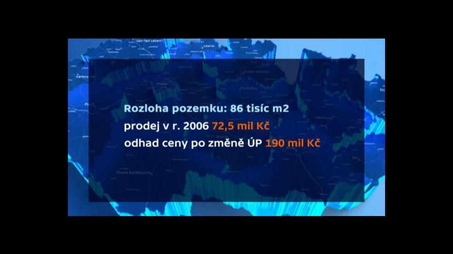 Video Luděk Jíra o zhodnocení soukromého pozemku v Praze 12
