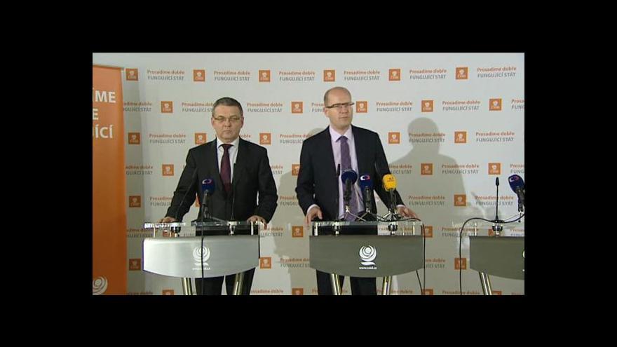 Video TK ČSSD po jednání předsednictva