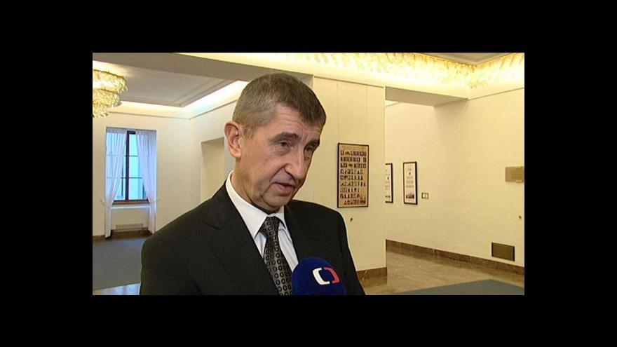 Video Reakce politiků na návrhy rozpočtového výboru