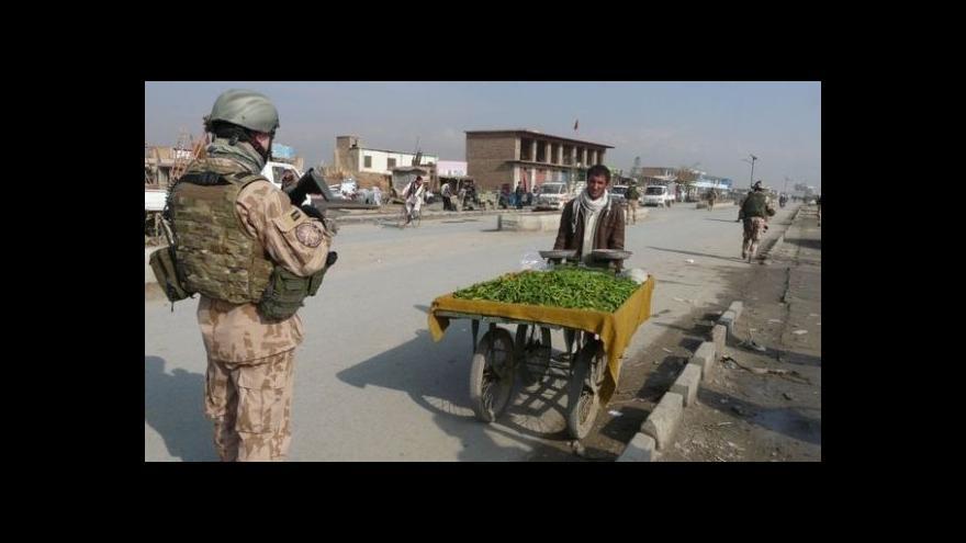 Video Čeští vojáci hlídají největší spojeneckou základnu v Afghánistánu