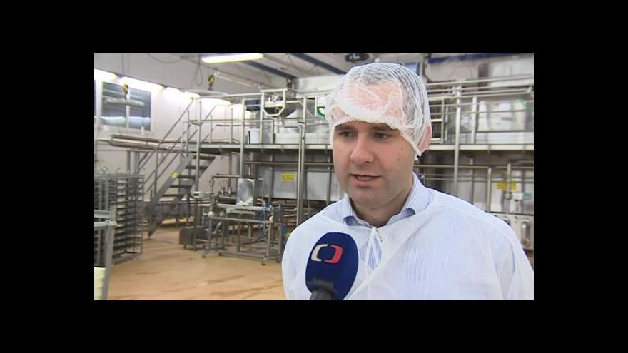 Video Hovoří mluvčí mlékárny Andrej Čírtek