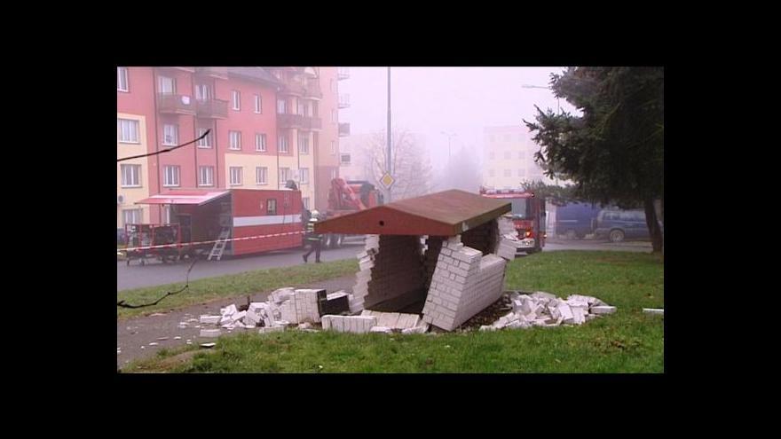 Video Výbuch plynu v Plzni zranil sedm dělníků