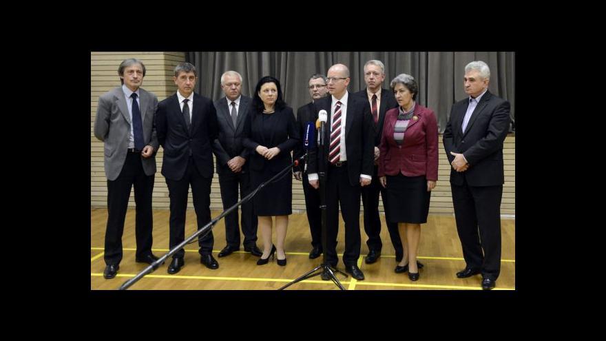 Video Koalice probere konečnou verzi dohody