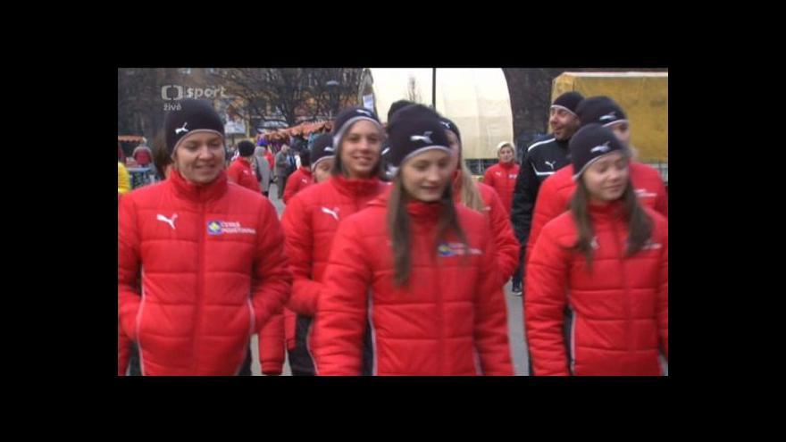 Video Florbalistky pojaly volný den na MS aktivně