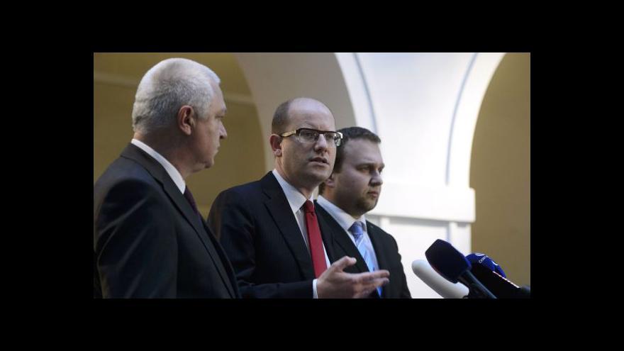Video Koaliční smlouva tématem Událostí