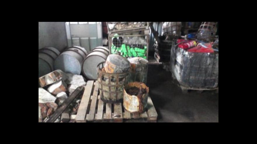 Video Jan Stuchlík o likvidaci chemikálií v Setuze