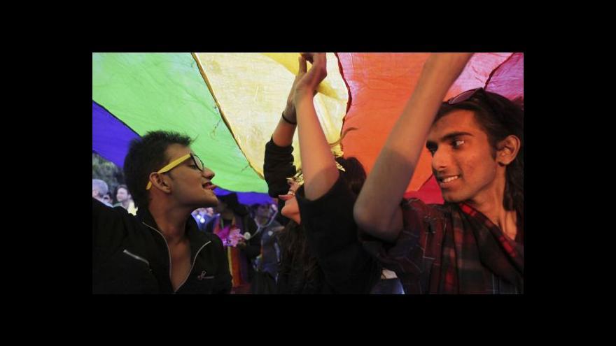 Video Zdeněk Štipl o právech gayů v Indii