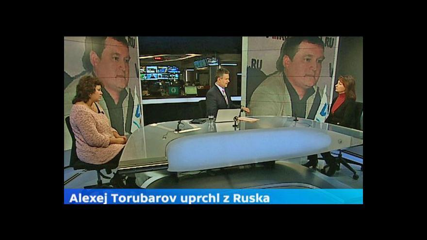 Video Hana Demeterová a Světlana Torubarovová ve Studiu ČT24