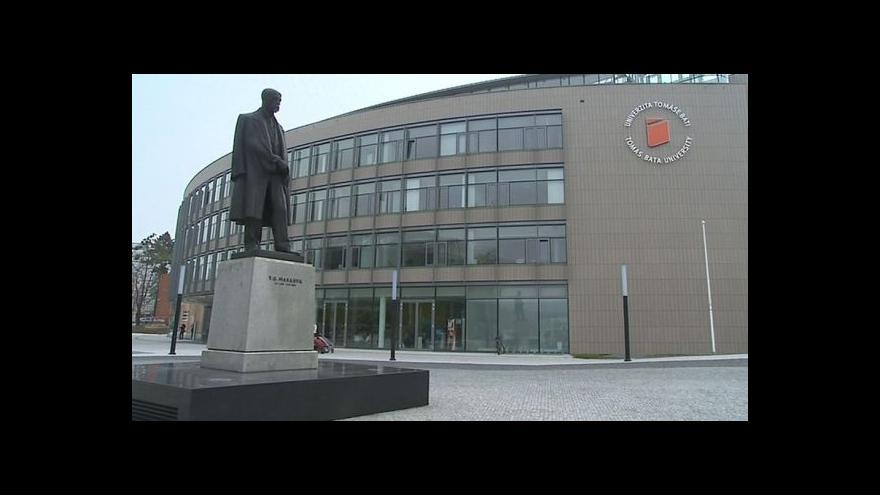 Video Vstup Gabriely Sluštíkové ze zlínské univerzity