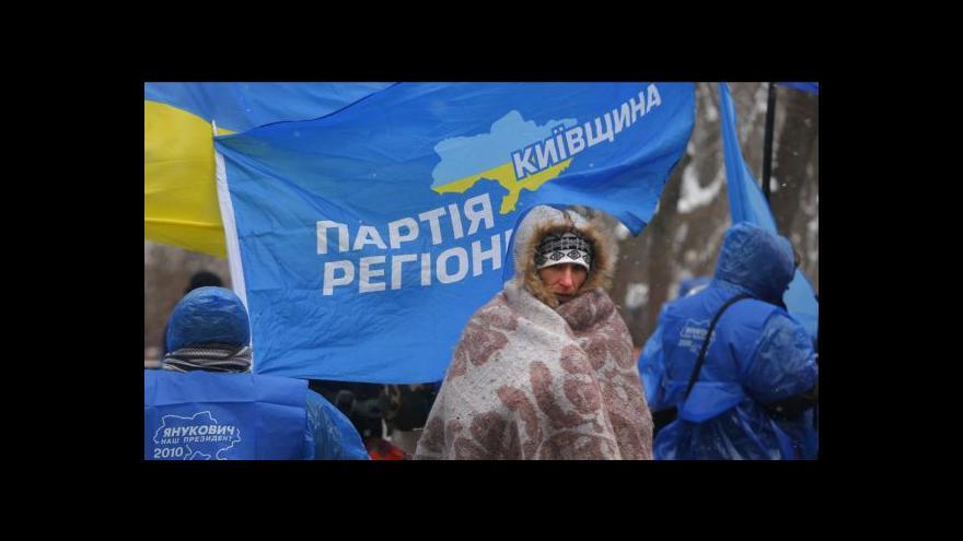 Video Západ odsoudil noční zásah v centru Kyjeva
