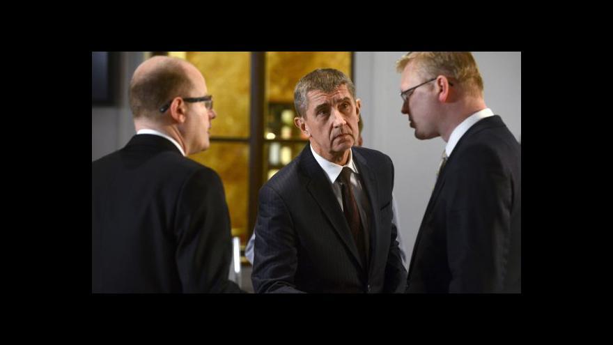 Video Koaliční vyjednávání tématem Událostí, komentářů