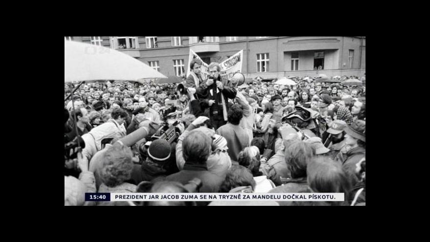 Video Demonstrace na Škroupově náměstí