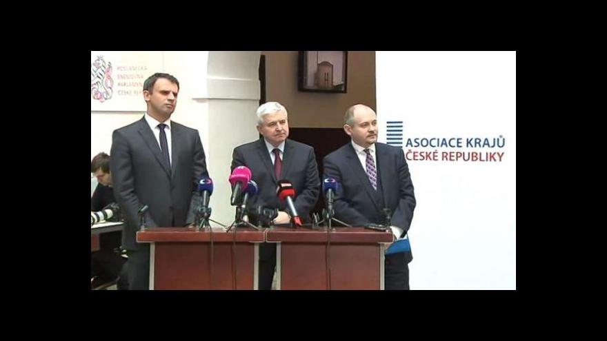 Video Brífink po jednání Asociace krajů ČR