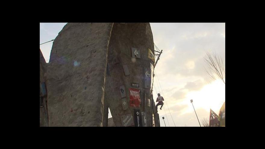 Video MČR v drytoolingu ovládla Lucie Hrozová