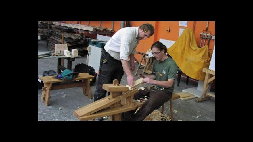 Video Vstup Ondřeje Schneidera o výrobě klátů