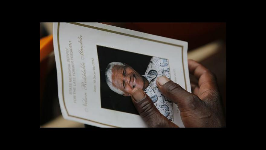Video Horizont ČT24: Pieta v Johannesburgu