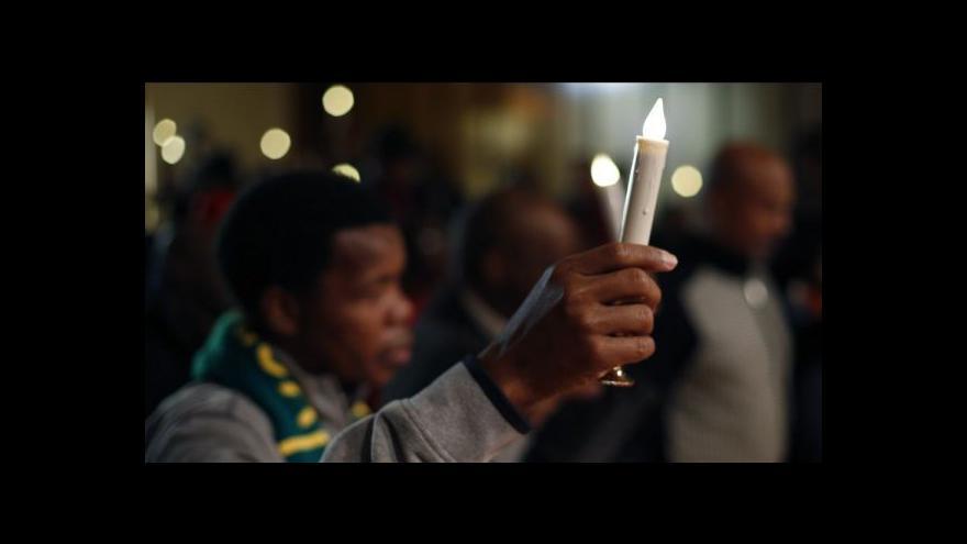 Video Osobnosti ze 70 zemí uctí památku Nelsona Mandely