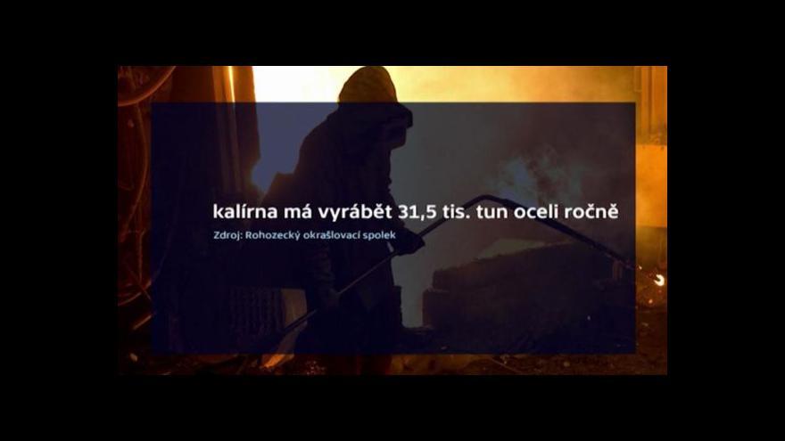 Video Kalírna v Turnově podnítila měření ovzduší