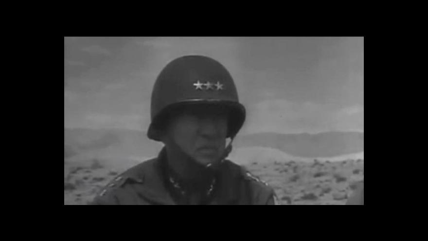 Video Horozint ČT24: Pochod pro Pattona