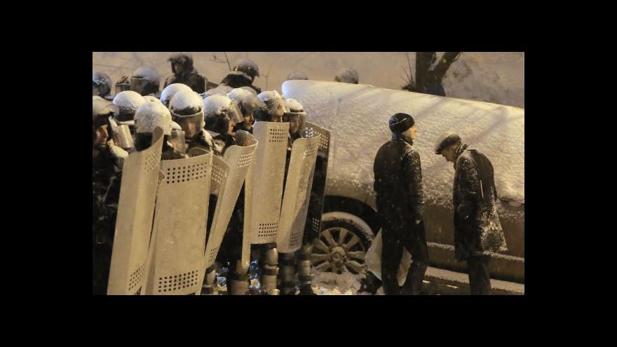 Video Horizont ČT24: Kyjev čeká jednání u kulatého stolu