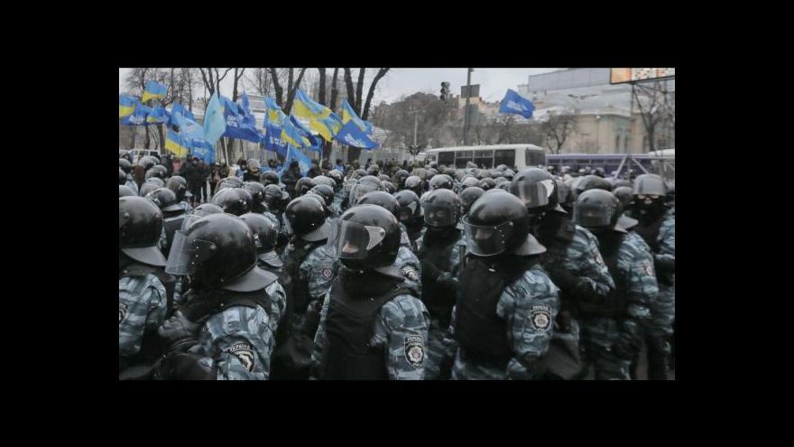 Video V Kyjevě proběhla další masivní demonstrace