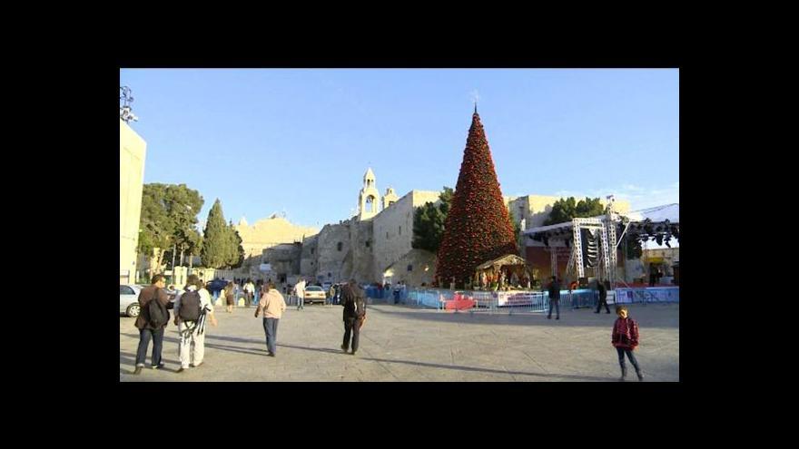 Video Betlém se připravuje na Vánoce