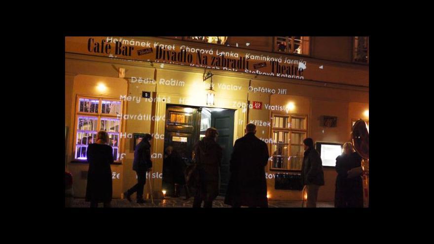 Video Divadlo Na zábradlí slaví 55 let